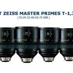 Alquiler Objetivos SET ZEISS ULTRA PRIME T-1,9