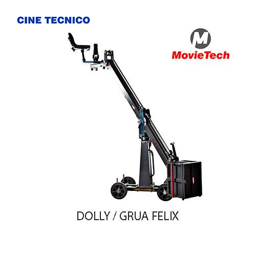 Alquiler DOLLY / GRUA FELIX MoviTech . Cine Técnico