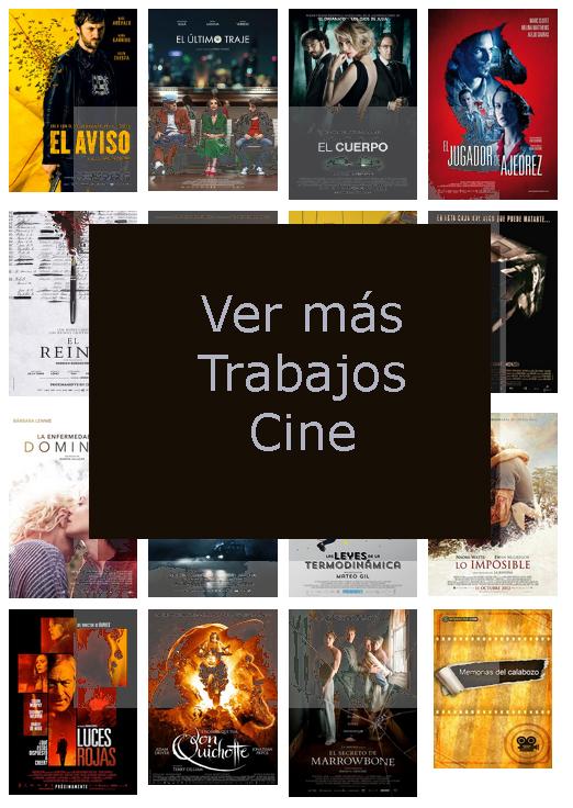 Cine Técnico Trabajos Cine