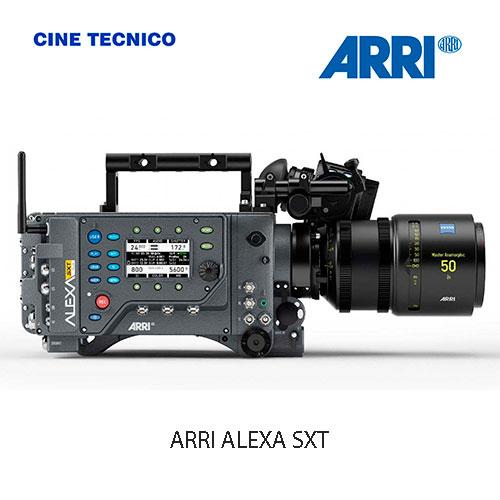Alquiler de Cámaras digitales ARRI ALEXA SXT STUDIO W