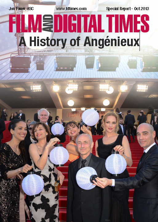 A History of Angenieux