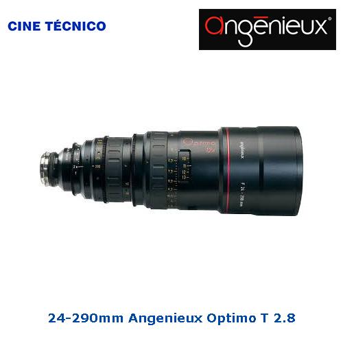 Alquiler Angénieux 24-290mm Optimo Prime - ine Técnico