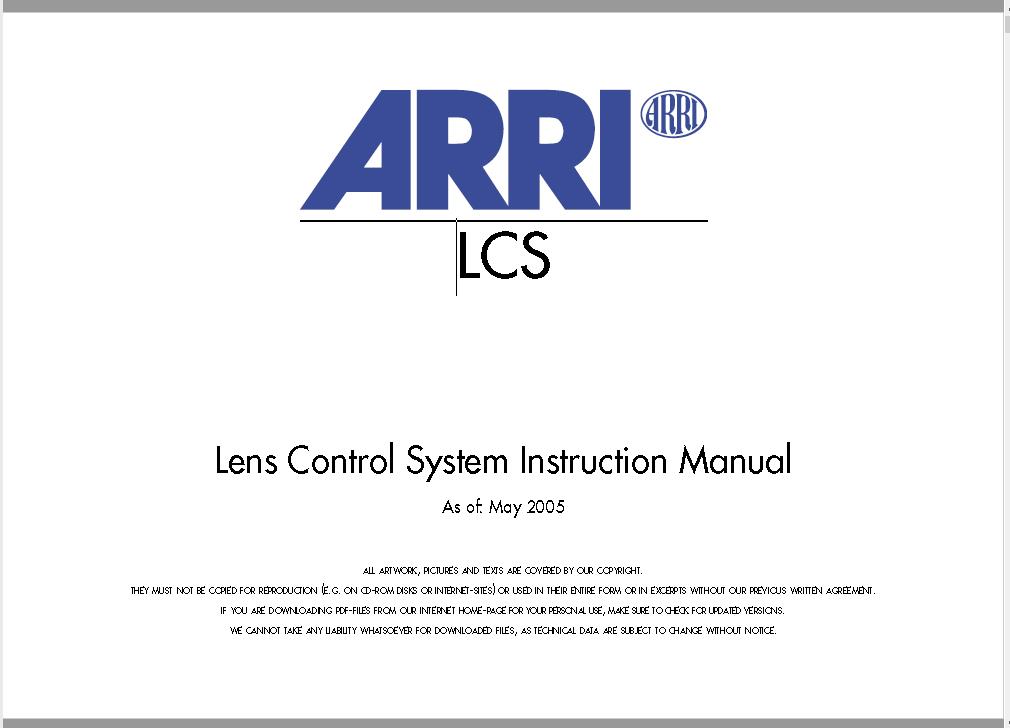ARRI Lens Control