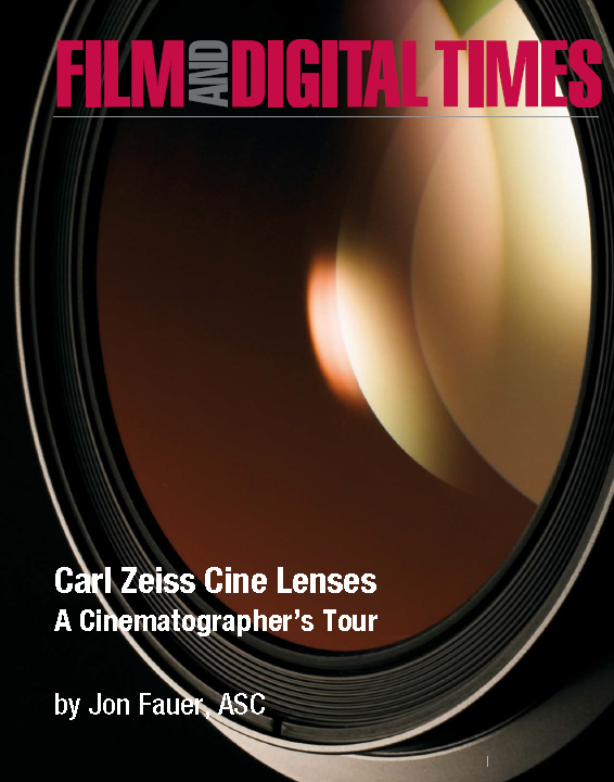 Carl Zeiss Cine lenses