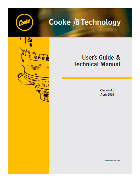 Cooke I Technology - User's Guide