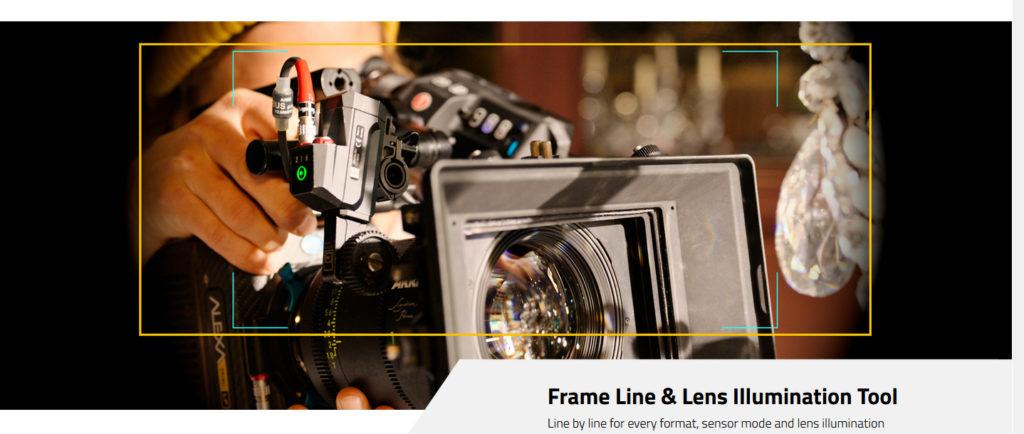 Frame Line & Illumination Tool