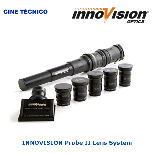 AlquilerINNOVISION Probe II Lens System - Cine Técnico