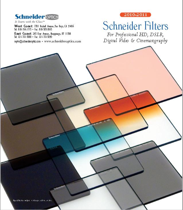 SCHNEIDER Filters - Brochure 2 Cine Técnico