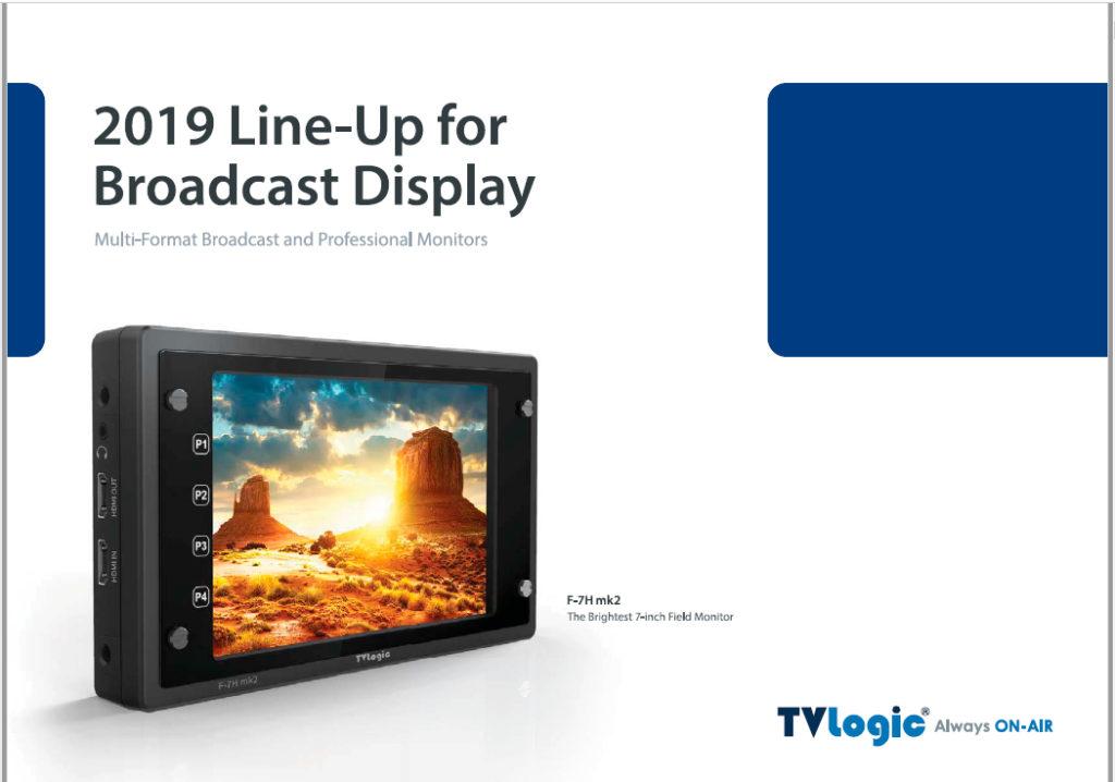 Catálogo 2019 Tv Logic - Cine Técnico