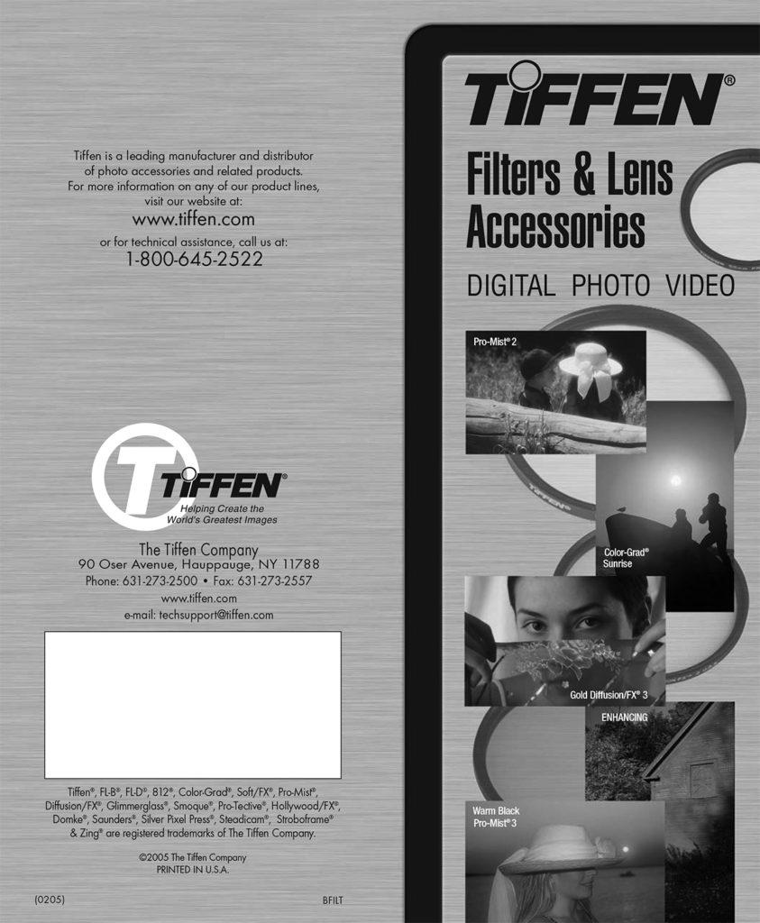 TIFFEN Filters - Brochure 2 Cine Técnico