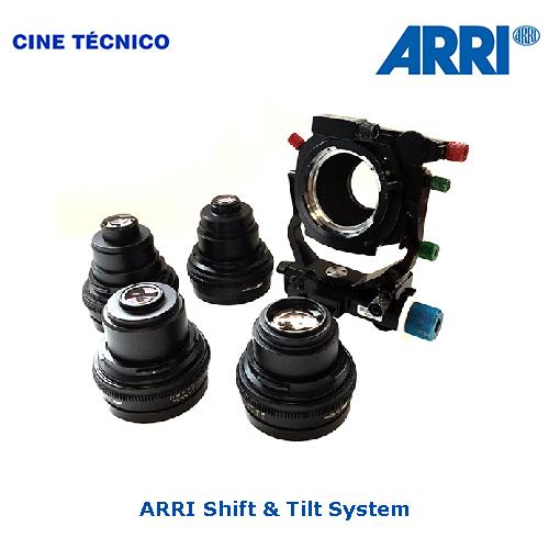 Alquiler ARRI Shift & Tilt System - Cine Técnico
