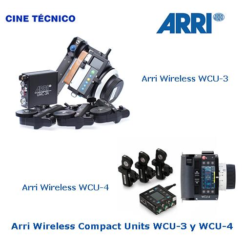 Alquiler Arri Wireless Compact Unit WCU-3 / WCU-4 - Cine Técnico