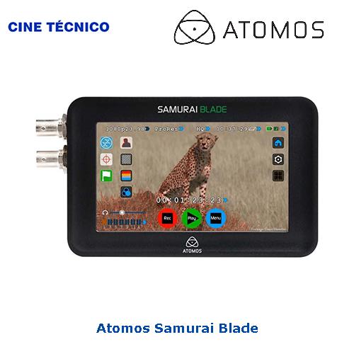 Alquiler Atomos Samurai Blade - Cine Técnico