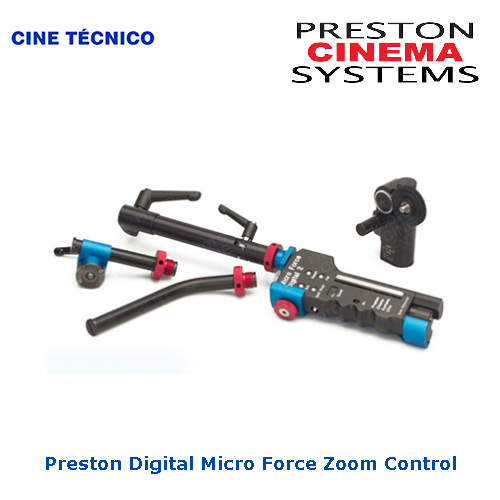 Alquiler Preston Digital Micro Force Zoom Control - Cine Técnico
