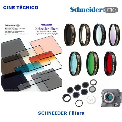 Alquiler SCHNEIDER Filters - Cine Técnico