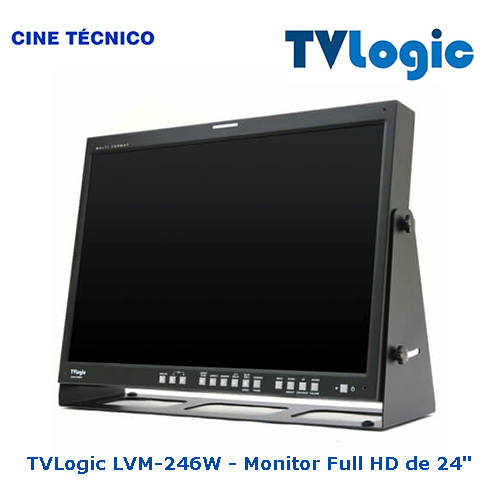 TVLogic LVM-246W - Monitor Full HD de 24""