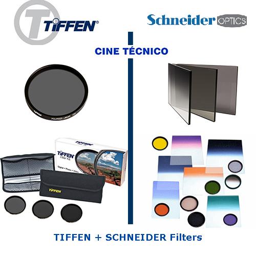 Alquiler TIFFEN y SCHNEIDER Filters - Cine Técnico