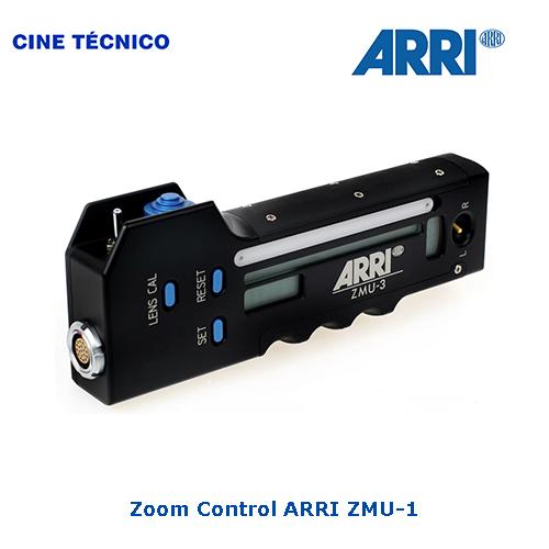 Alquiler Zoom Control ARRI ZMU-1 - Cine Técnico