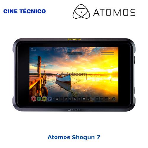 "Alquiler Atomos Shogun 7"" HDR Monitor-Recorder-Switcher - Cine Técnico"