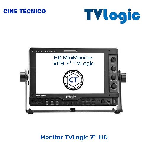 Alquiler Monitor 5,6 pulgadas TVLogic HD - Cine Técnico