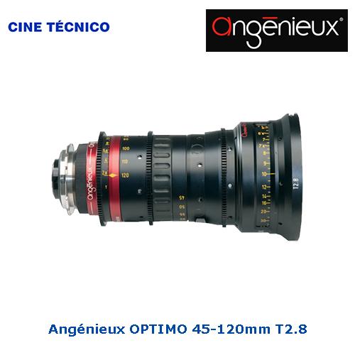 Alquiler ópticas Angénieux OPTIMO 45-120mm T2.8 - Cine Técnico