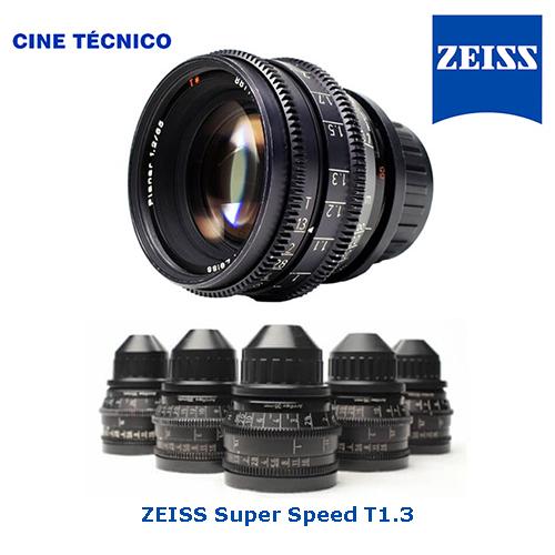 alquiler óptica ZEISS Super Speed T1.3 - Cine Técnico
