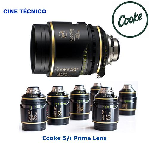 Alquiler ópticas Cooke 5/i Prime Lenses T1.4 - Cine Técnico