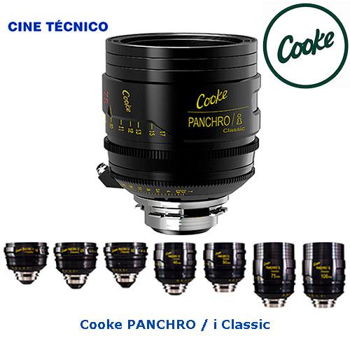 Alquiler ópticas Cooke PANCHRO/i Classic - Cine Técnico