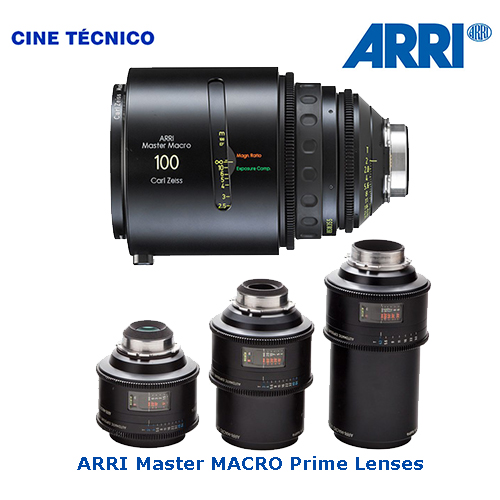 Alquiler ópticas ARI Master MACRO - Cine Técnico