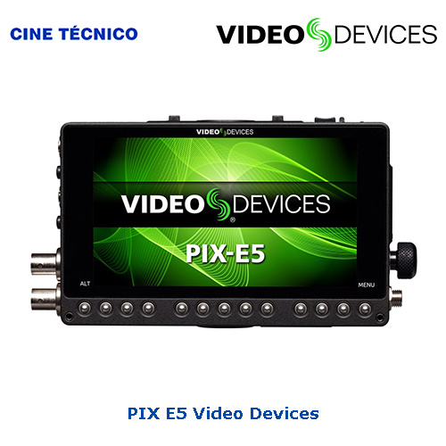 Alquiler PIX E5 Video Devices - Cine Técnico