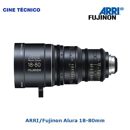 Alquiler ARRI Alura 18-80mm T2.6 - Cine Técnico