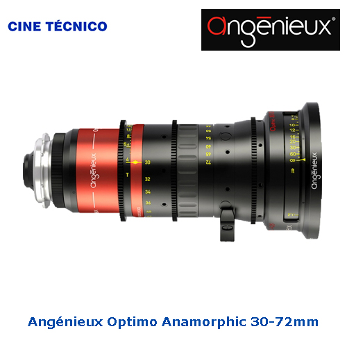 Alquiler Angénieux Optimo Anamorphic 30-72mm T-4 LWZ - Cine Técnico