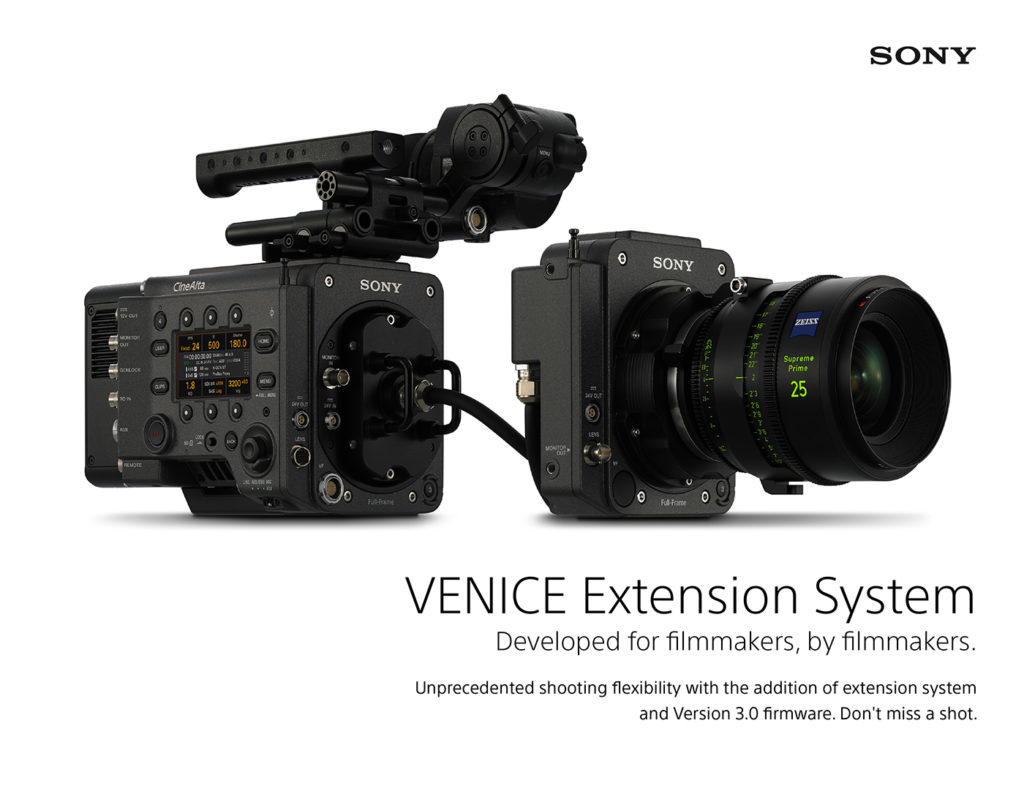SONY VENICE Lenses