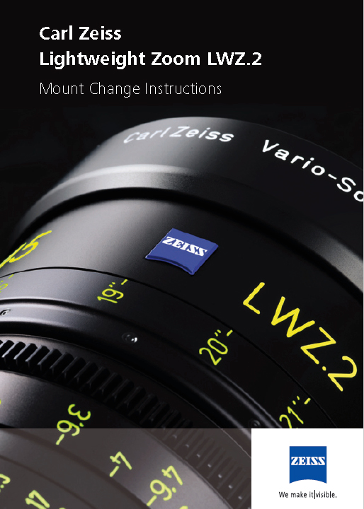 ZEISS LWZ 15,5-45mm T-2.6 - User Manual