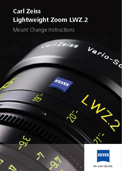 ZEISS LWZ 15,5-45mm T-2.6 - User Manual