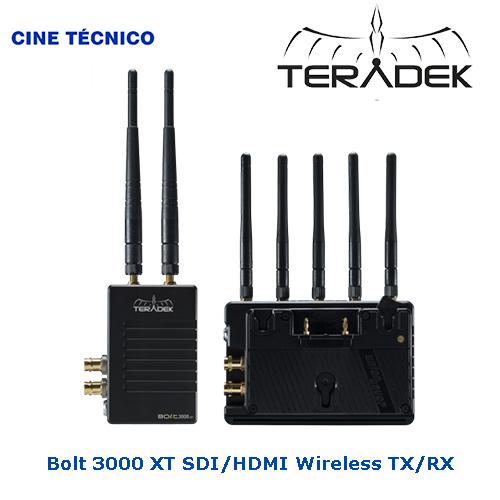 Bolt 3000 XT SDI/HDMI Wireless - Cine Técnico