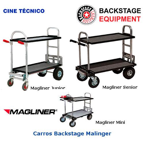 Alquiler carros Magliner Backstage
