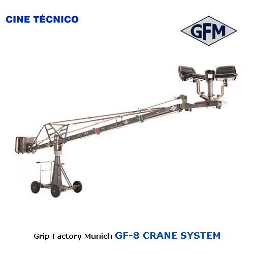 Alquiler GF-8 CRANE SYSTEM - Cine Técnico