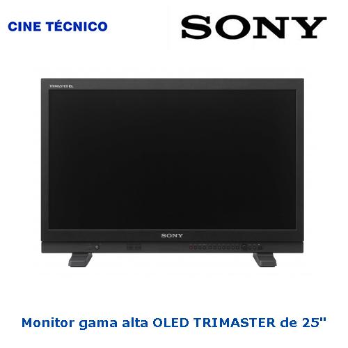 Alquiler Monitor SONY Trimaster OLED 25 pulgadas - Cine Técnico