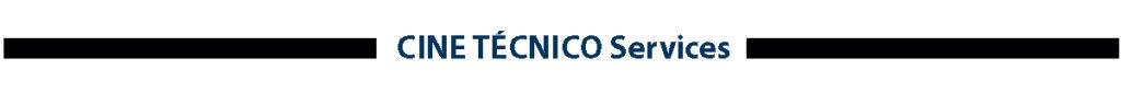 CINE TECNICO Services