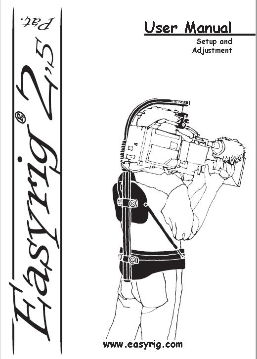 Easyrig 2.5 Manual