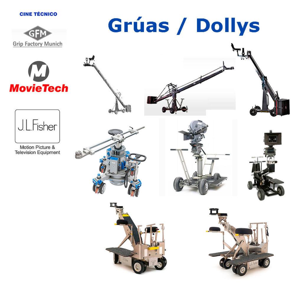 Alquiler Grúas y Dollys - Cine Técnico
