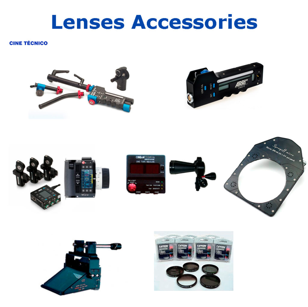 Rent Lenses Accessories - Cine Tecnico