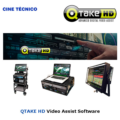 QTake HD Digital Video Assist Software - Cine Técnico