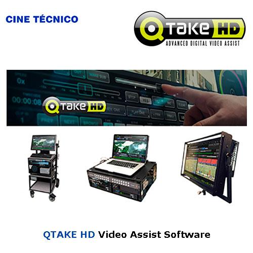 Alquiler QTAKE HD Video Assist Software - Cine Técnico