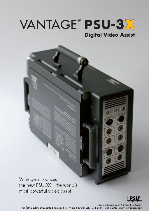 Smart Assist PSU-3X HD Vantage - Brochure