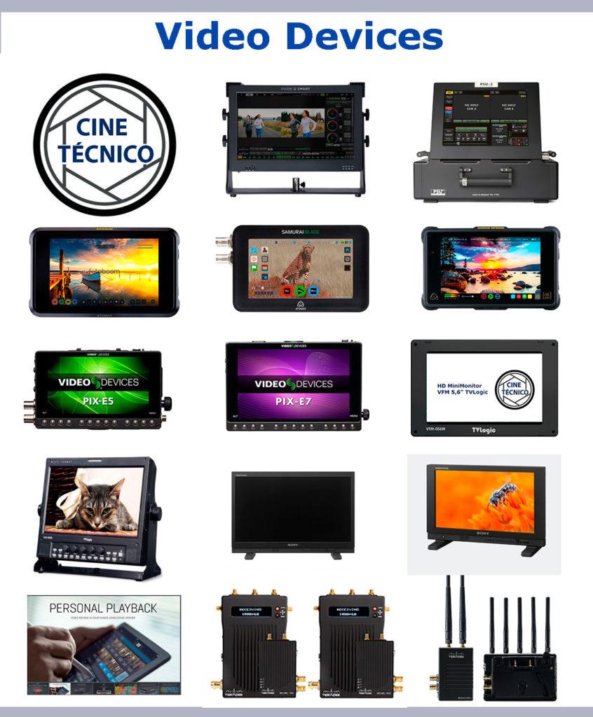 Rent Video devices - Cine Técnico