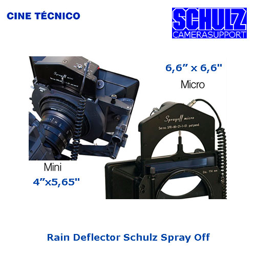 Rent Rain Deflector Schulz Spray Off - Cine Técnico