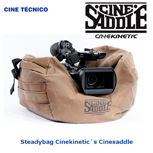 Steadybag Cinekinetic´s Cinesaddle - Cine Técnico