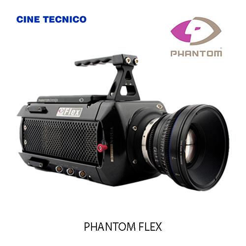 Alquiler PHANTOM FLEX - Cine Técnico